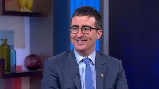 John Oliver on Making Current Events Funny