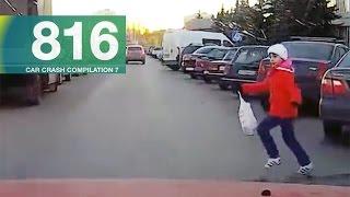 Car Crashes Compilation 816 - November 2016