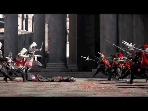 """I won't back down"" Assassin's Creed Brotherhood trailer music video"
