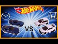HONDA CIVIC vs MAZDA RX7 - THEN AND NOW - Hot Wheels P Case