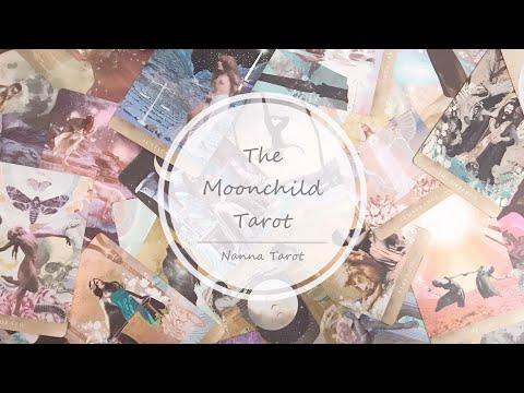 開箱  月亮之子塔羅牌 • The Moonchild Tarot // Nanna Tarot