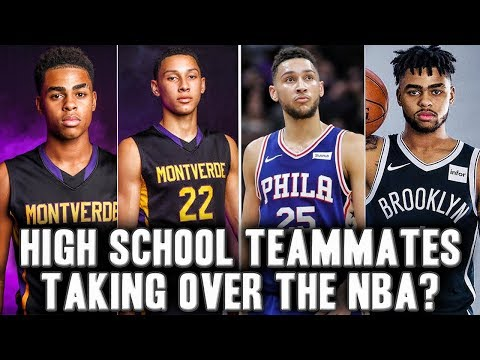 The Story Dangelo Russell And Ben Simmons Journey From High School Teammate To NBA Future Stars