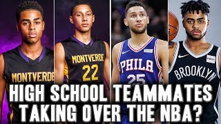 The Story D'angelo Russell And Ben Simmons Journey From High School Teammate To NBA Future Stars