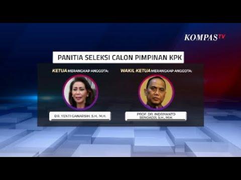 Ini 9 Anggota Pansel Calon Pimpinan KPK 2019-2023 yang Dipilih Jokowi