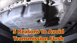 Automatic Transmission Flush Facts and Fictions, why transmissions fail, 6r80, 10r80, 68RFE maxlife