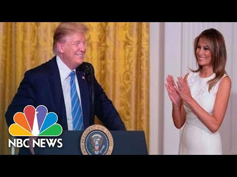 Watch Live: Donald Trump Hosts White House Historical Association Dinner | NBC News