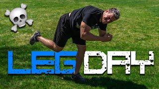 KILLER Leg Workout | Day 12