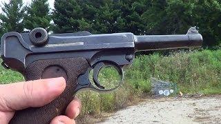 Luger 7.65 Parabellum Semi-Auto Pistol