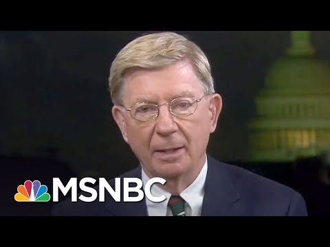 "Conservative George Will On Why Pence Is A ""Sycophantic Poodle"" 