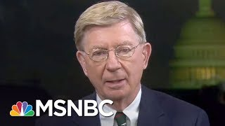 "Conservative George Will On Why Pense Is A ""Sycophantic Poodle"" 