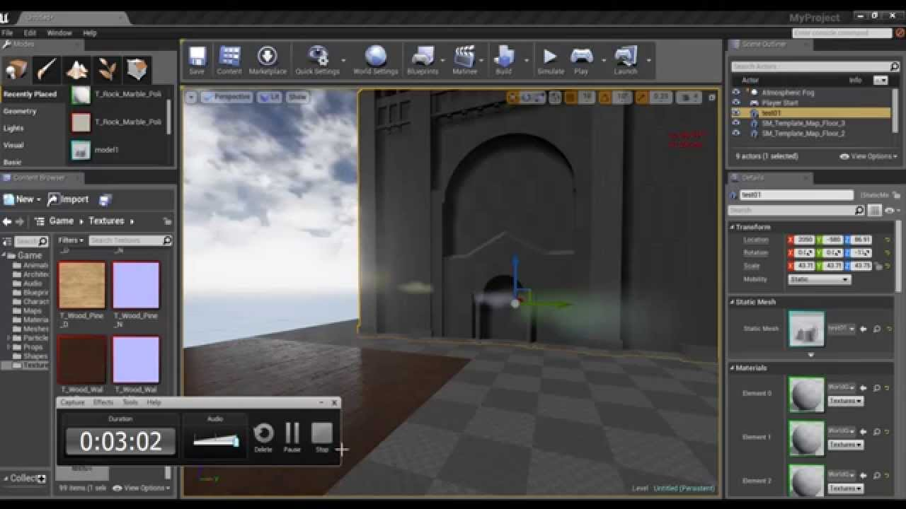 Unreal Engine 4 : How to import Sketchup model into unreal Engine 4