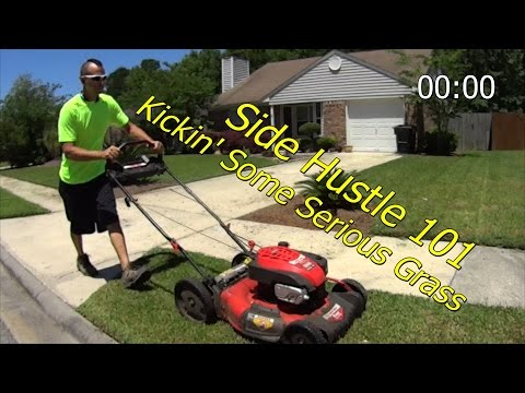 Basic Lawn Service Equipment 101 - Side Hustle Efficiency - Keep Your Flow