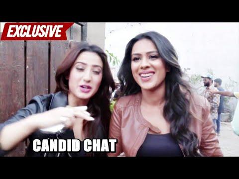 Exclusive | Short Chit Chat With Nia Sharma U0026 Alisha Panwar | Ishq Mein Marjawan
