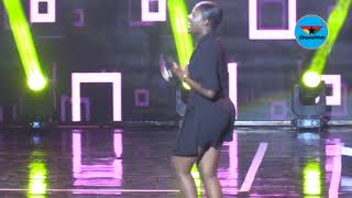 Medikal and Fella Makafui perform at Ghana Meets Naija