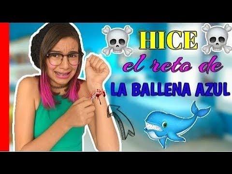 ¿HAGO EL RETO DE LA BALLENA AZUL? ♥ Lulu99
