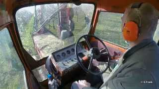 Belarus MTS 80 Konturenschnitt im Obstbau !