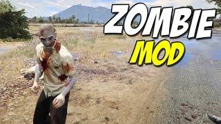 Zombie Mod ►  Grand Theft Auto 5 PC ( Mod Review )