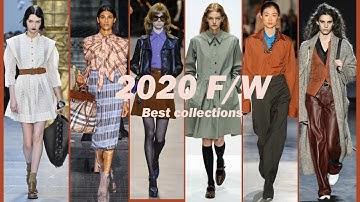 (ENG) 2020 F/W 가을, 겨울 패션 트렌드! 바로 적용 가능한 스타일링! (ft. 베스트 컬렉션, CELINE, CHANEL, CHLOE 등)