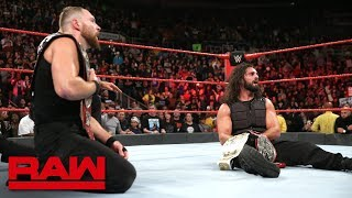 McIntyre & Ziggler vs. Rollins & Ambrose - Raw Tag Team Championship Match: Raw, Oct. 22, 2018
