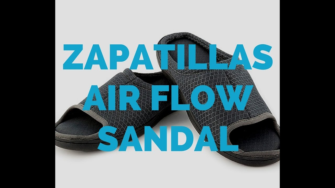 Zapatillas Con Suela De Gel Zapatillas De Casa Air Flow Sandal Suela De Gel Y Visco C