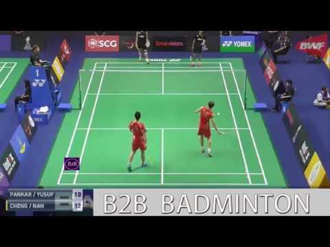Badminton 2017 ThailandMaster  ZHANG Nan  LIU Cheng vs Wahyu Nayaka ARYA PANKARYANIRA Ade YUSUF