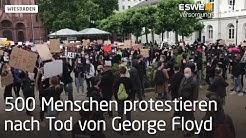 Wiesbaden: Protest gegen Rassismus und Polizeigewalt