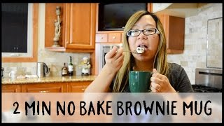 No Bake Brownie In A Mug! | Askylitavenue