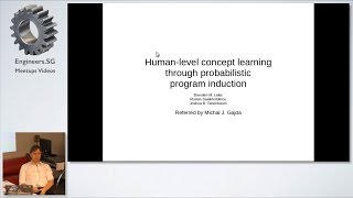 Human-level concept learning through probabilistic program induction  - Papers We Love SG