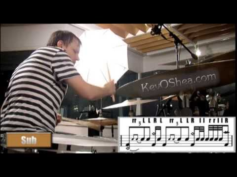 Keith Carlock Syncopated Groove 2013