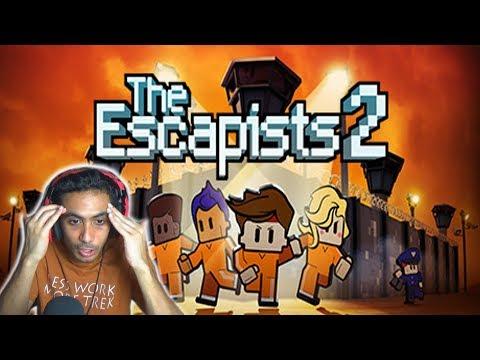 هربت من السجن في اقل من 24 ساعة !    The Escapists 2