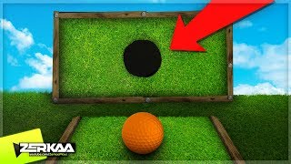 99.9% CAN'T GET THE BALL THROUGH THE HOLE (Golf It)