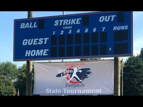 NC American Legion Softball Title Game