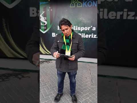 Kocaelispor -Alemdağspor maç öncesi 15.03.2020 | Yiğit Özcan'la Mikrofonlarımız İsmetpaşa da