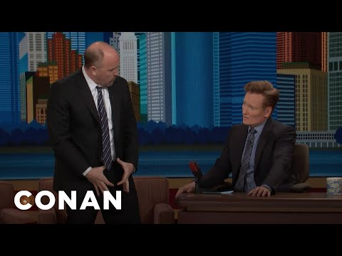 Louis C.K. Walked Around NYC With His Fly Gaping Open  - CONAN on TBS