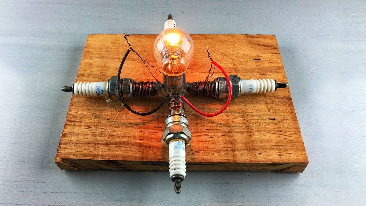 New for 2019 , Free Energy Generator Spark Plug