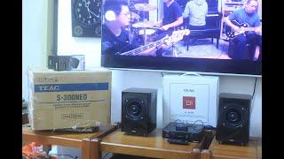 Hệ thống nhạc số mini: Amp Teac A-H01 + Teac S300NEO + Bluetooth Yamaha YBT-11 Fullbox