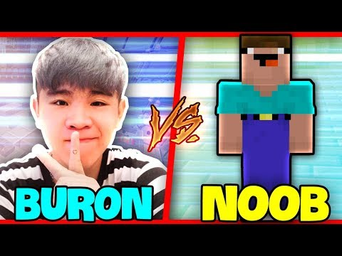 NOOB Troll BURON Trong Minecraft!!!