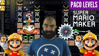Insane Pixel Art | PACO Levels [#2] | Mario Maker Super Expert Levels