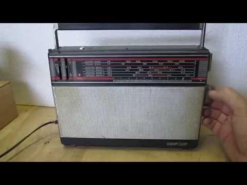 ВЭФ-317 (VEF - 317) - потративный транзисторный радиоприёмник 3-го класса