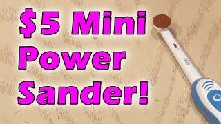 $5 Mini Power Sander!