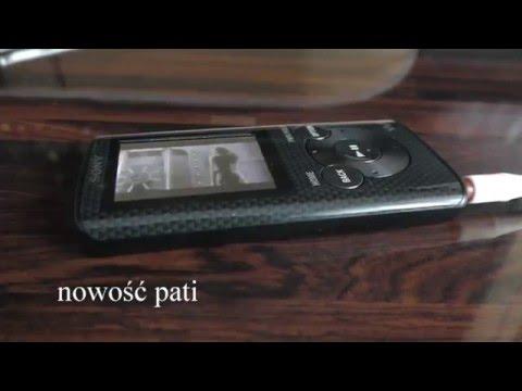 Walkman Sony NWZ-E384 8GB Mp4 Mp3 Odtwarzacz Wideo Muzyki Unboxing First Look Test