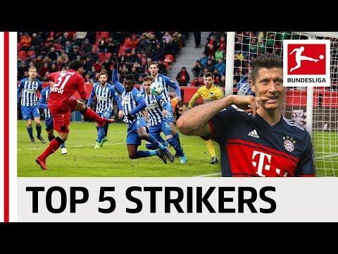 The Best Strikers of the Season - Lewandowski, Volland & Co.