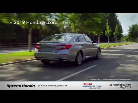 2019 Honda Accord LX - Spreen Honda (Memorial Day Specials)