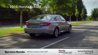 2019 Honda Accord LX - Spreen Honda (Memorial Day Specials)