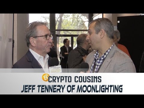 Interview With Moonlighting CEO Jeff Tennery | 2018 Bitcoin Ethereum Blockchain Super Conference