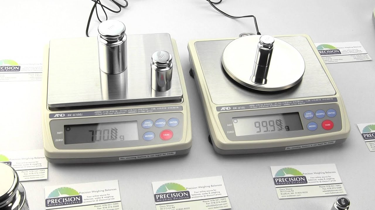 A&D Weighing EJ1500 digital scale Balance - Precision Weighing Balances
