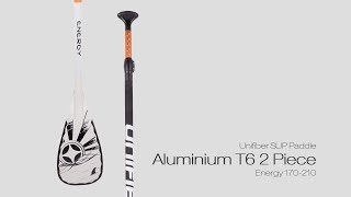 Video: Unifiber Aluminium Sup T6 Paddle 2 PC Energy 170 - 220