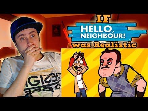 If HELLO NEIGHBOR was Realistic | REACTION