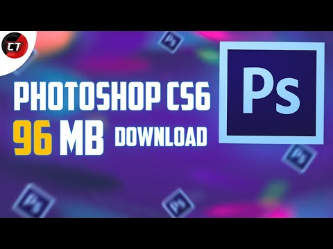How To Download Photoshop Cs6 Only 96 MB  💯Working By||MAZEDAR TIPS||