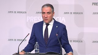 Bendodo: El Gobierno andaluz no se ve afectado por el resultado electoral